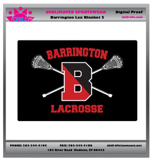 Barrington Lacrosse Blanket