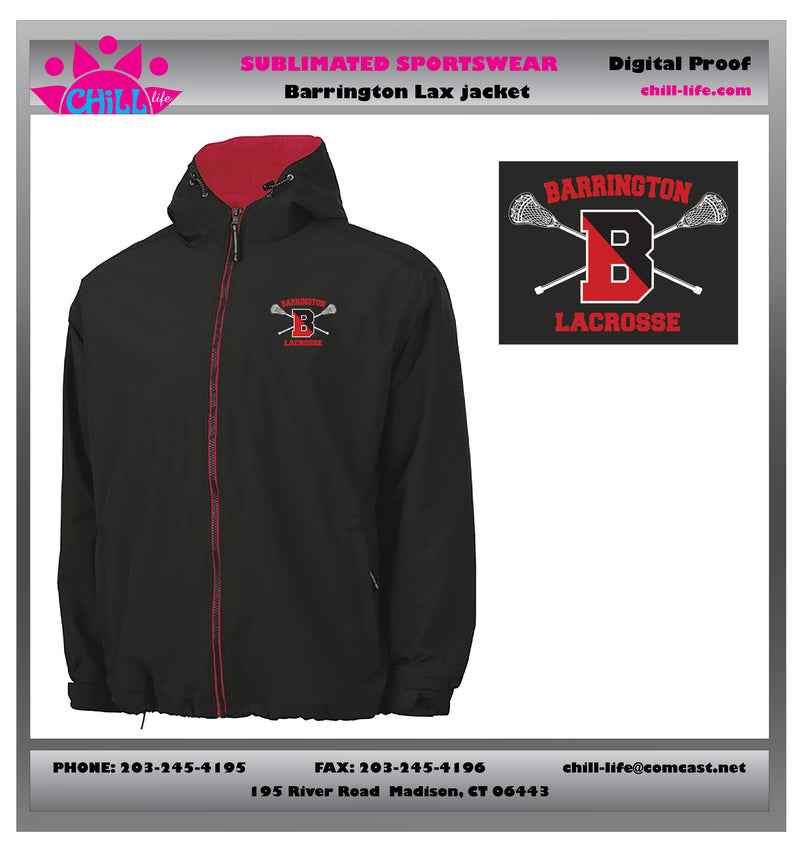 Barrington Lacrosse Enterprise Anorak Jacket