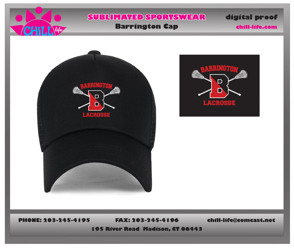 Barrington Lacrosse Baseball Cap