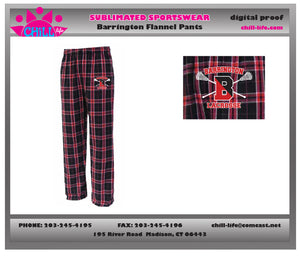 Barrington Lacrosse Flannel Pants