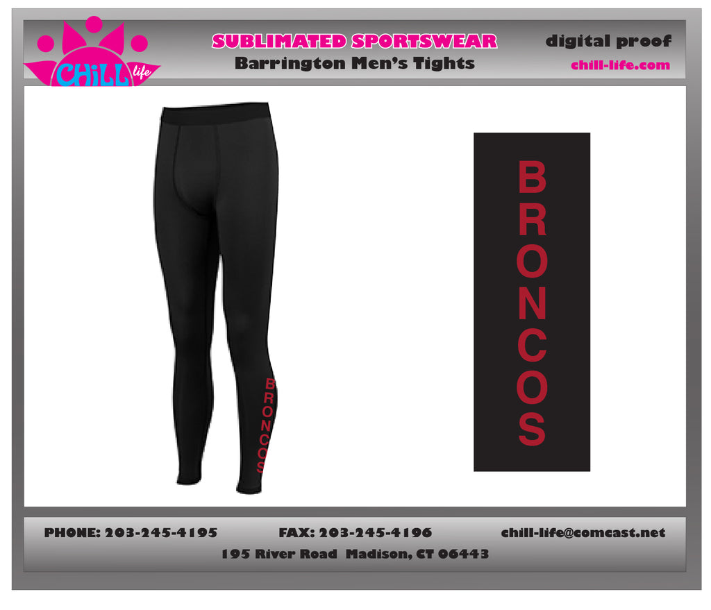 Barrington Lacrosse Boy's/Men's Compression Tights