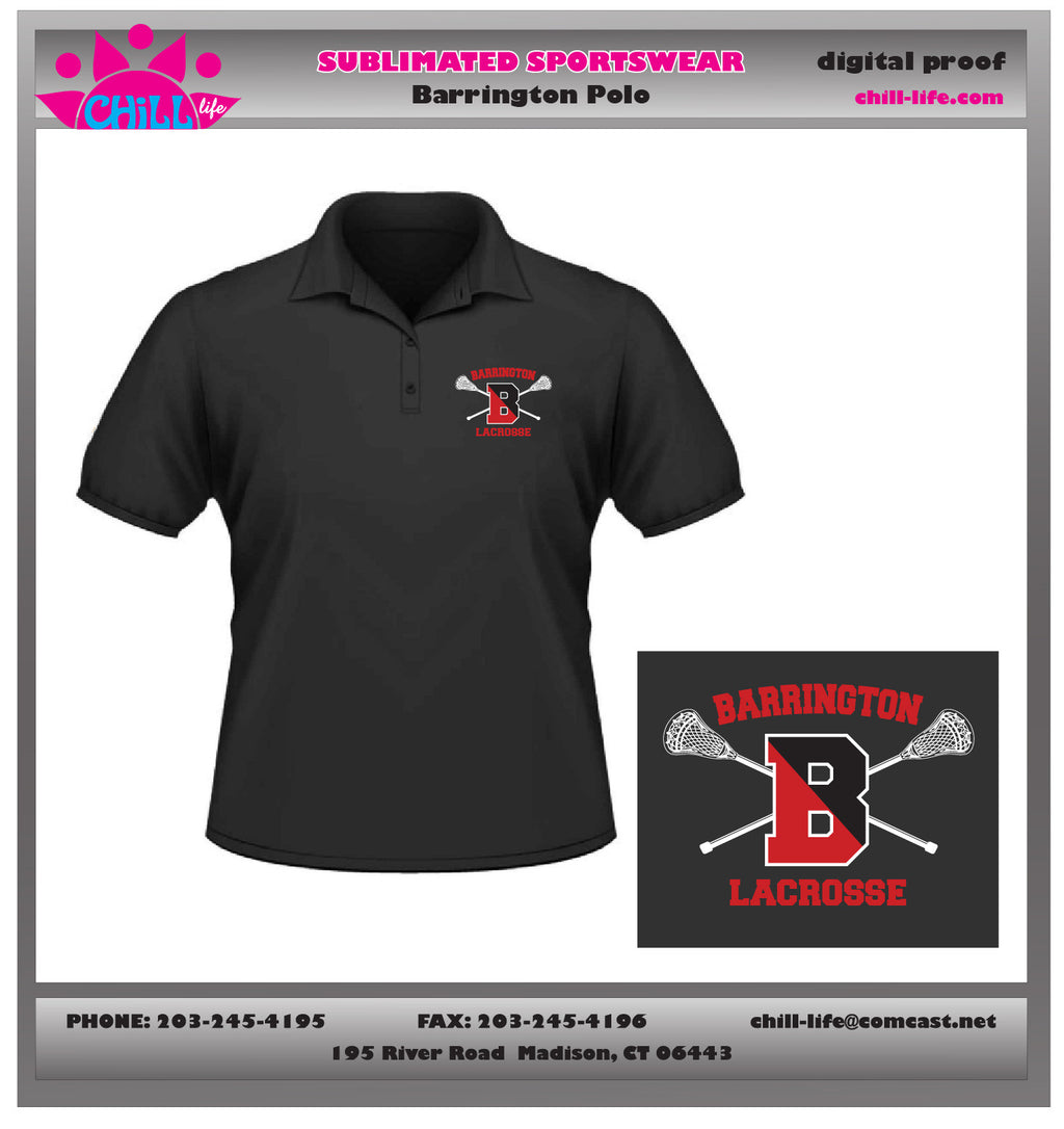 Barrington Lacrosse Coaches Shirt