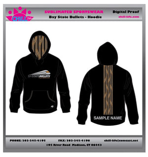 Bay State Bullets Sublimated Performance Hoodie