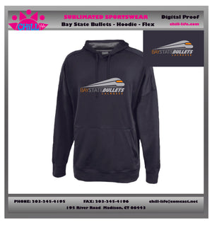 BAY STATE BULLETS PERFORMANCE HOODIE