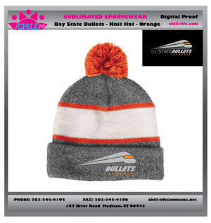 Bay State Bullets-orange stripe