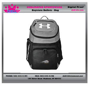 Bay State Bullets Lacrosse Backpack-Under Armour