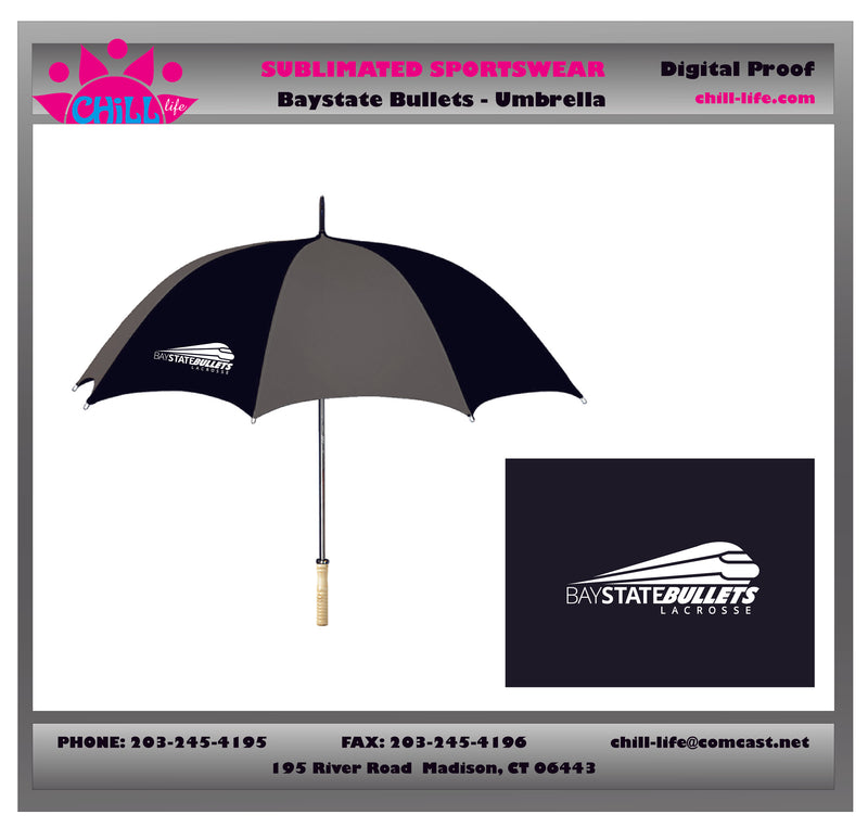 Bay State Bullets Umbrella