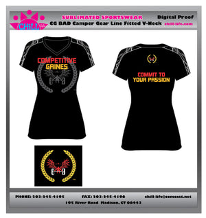 Ladies Fitted Style Short Sleeve Performance Shirt