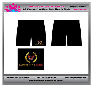 9 inch Performance Short with Pockets-Plain