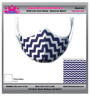 CHEVRON Protective Face Mask
