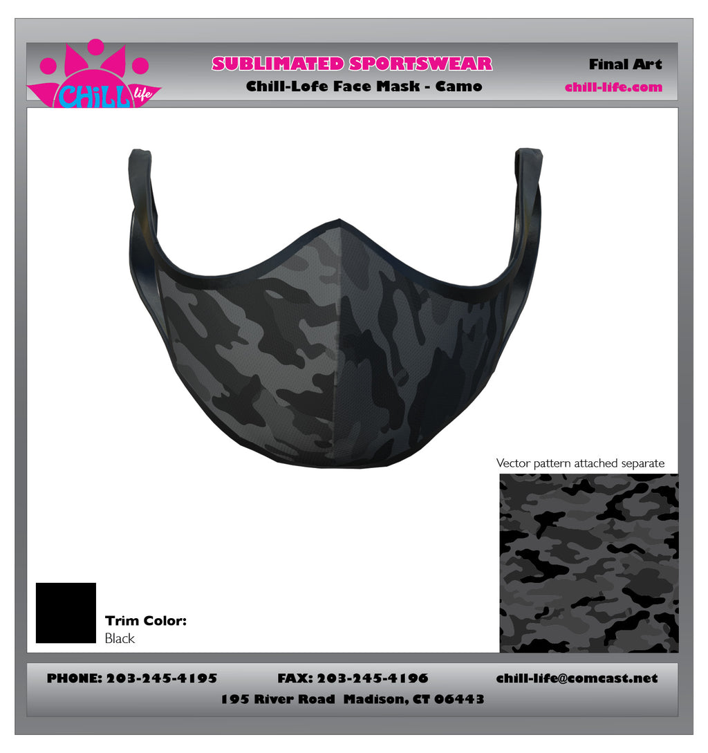 Camouflage Protective Mask