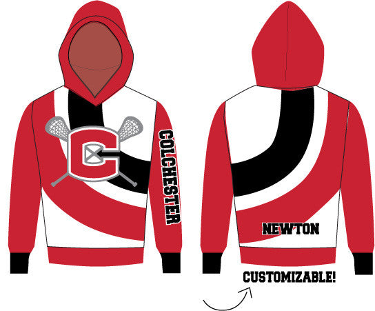 Custom Colchester Sublimated Hoodie