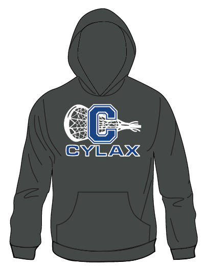 CYLAX Heavy weight 10 oz Premium Hoodie-Charcoal