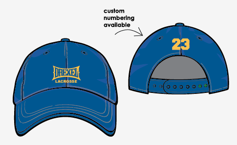 DREXEL baseball hat with embroidery