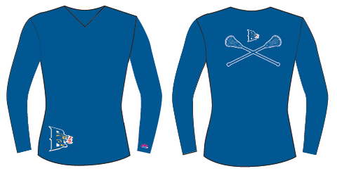 Long Sleeve Sublimated Shooter Shirt