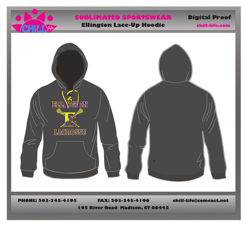 Ellington Lace Up Hoodie