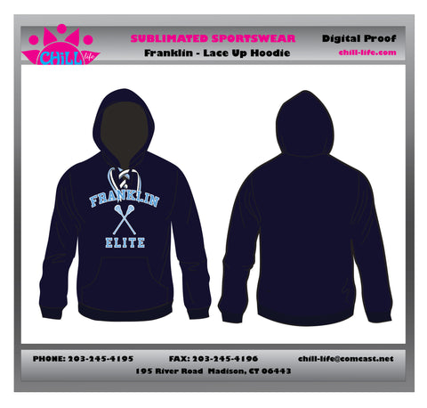 Franklin Elite Lacrosse Lace Up Hoodie