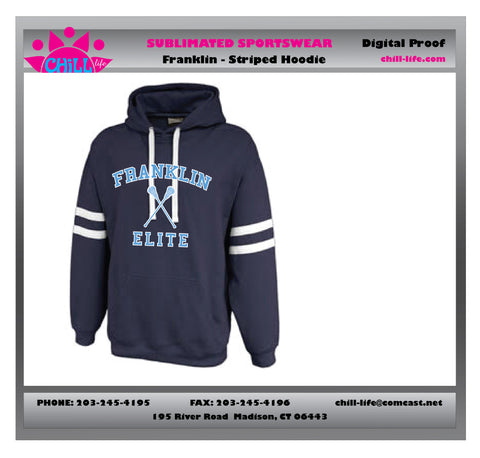 Franklin Elite Twin Striped Hoodie