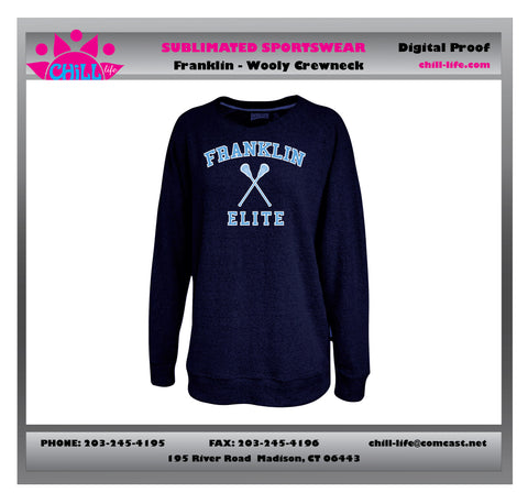 Franklin Elite Lacrosse Girls Wooly Sweatshirt
