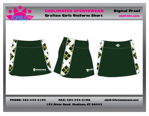 Grafton Lacrosse Girls Uniform Skort-BUNDLED SET