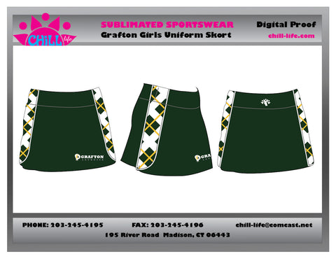 Girls Grafton Uniform Skort-SEPARATES