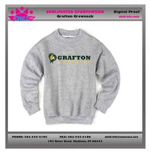 Grafton Lacrosse Heavyweight Crewneck Sweatshirt