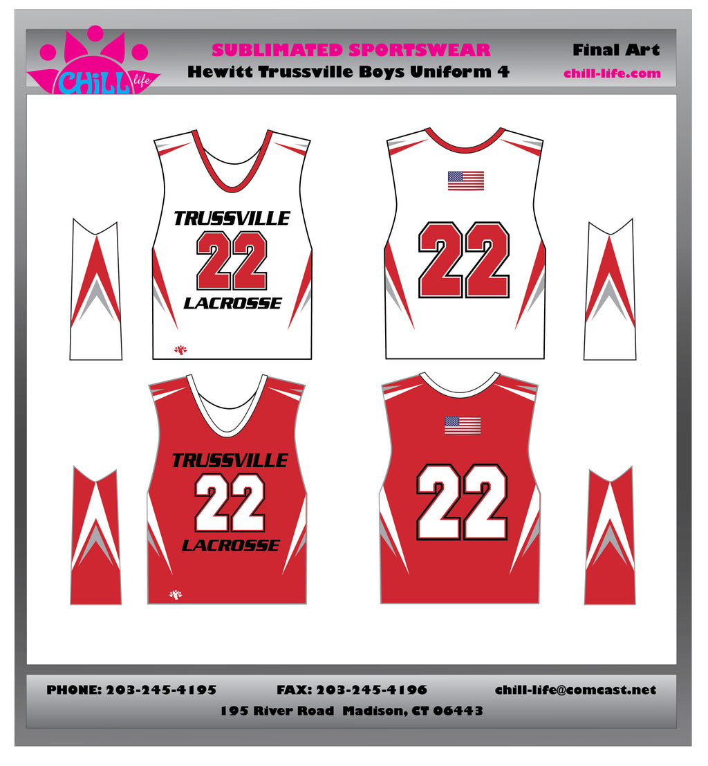 HEWITT-TRUSSVILLE BOYS COLLEGE CUT GAME REVERSIBLE