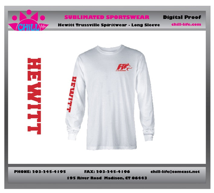 Hewitt Lacrosse Long Sleeve COTTON tee