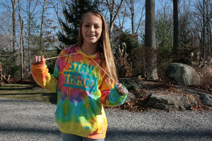 STAY FIERCE Tie-Dye Hoodies