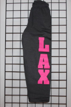 Heavyweight Sweatpants- Open Bottom Dorm-Choose Your Color & Graphic