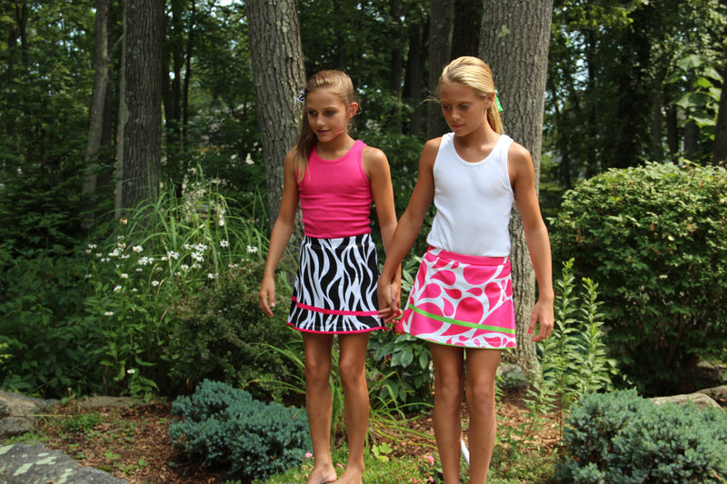 Girls Athletic Swifty Skirts