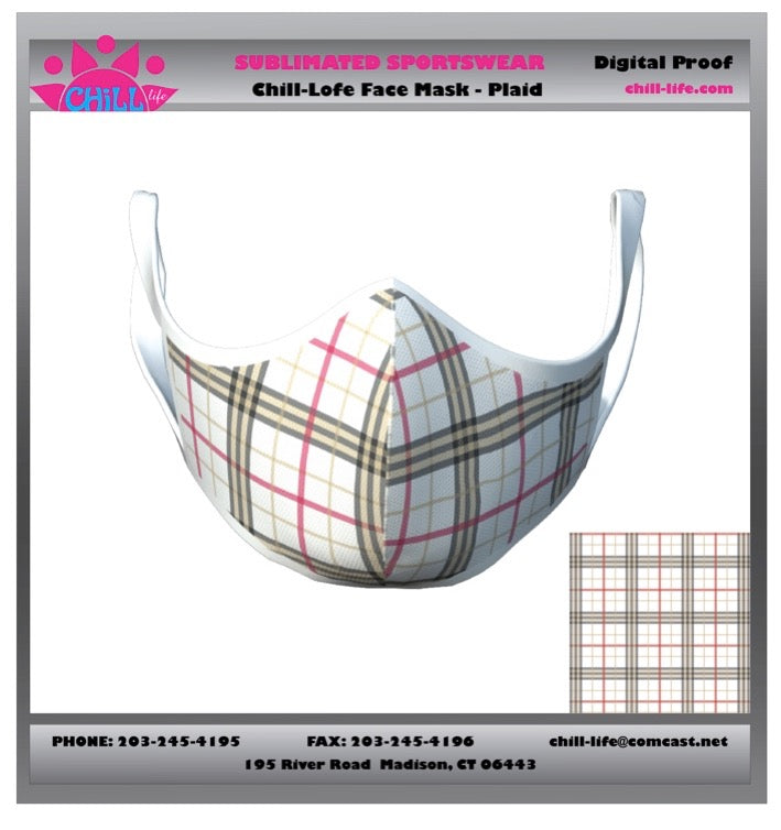 Plaid Protective Mask