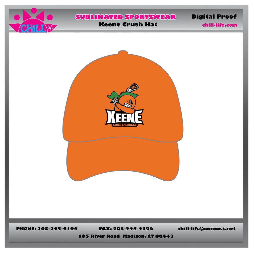 Keene Crush baseball hat