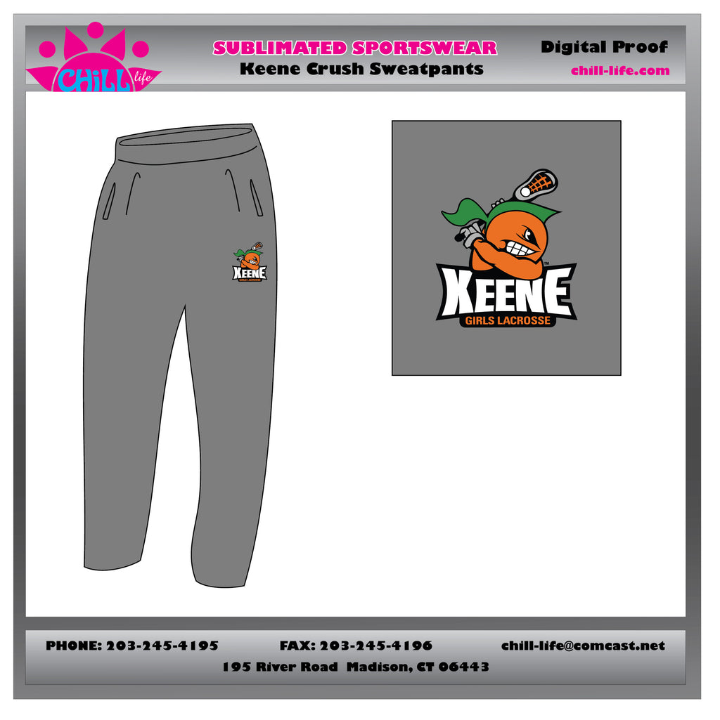Keene Crush Open Bottom Sweatpants
