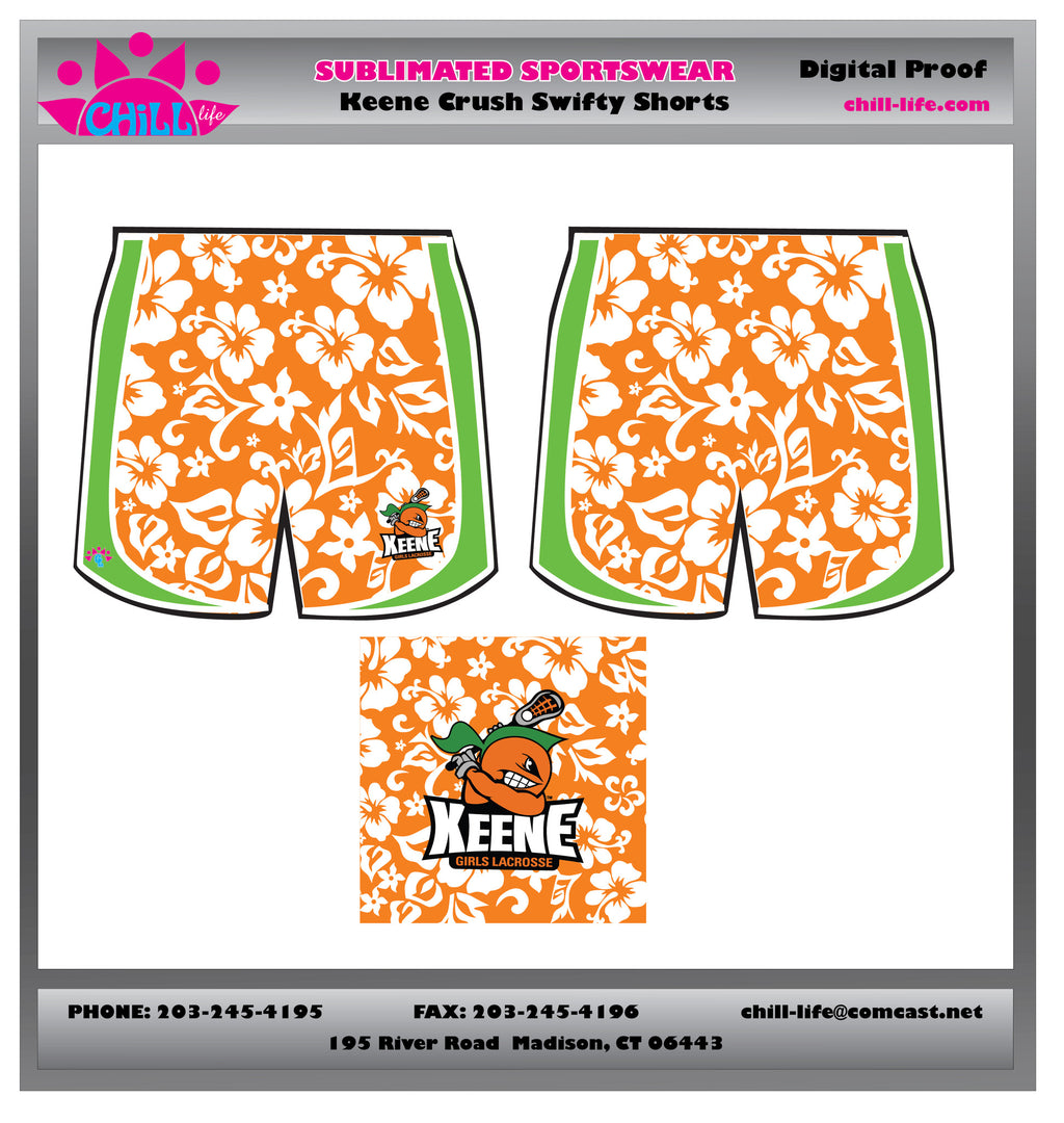 Keene Crush Sublimated Short