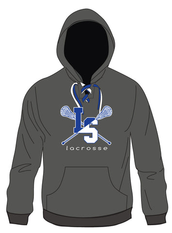 L-S Lace Up Hoodie