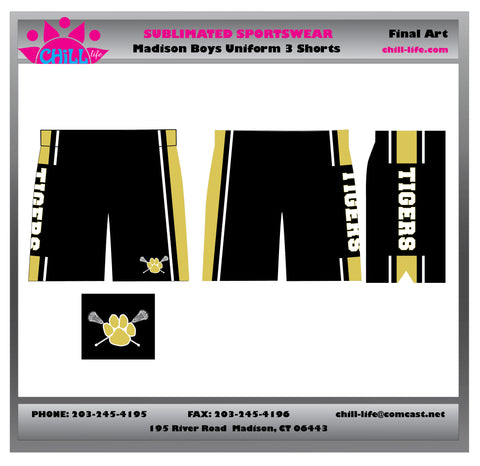 BUNDLED SET PRICING-BOYS MADISON UNIFORM SHORT