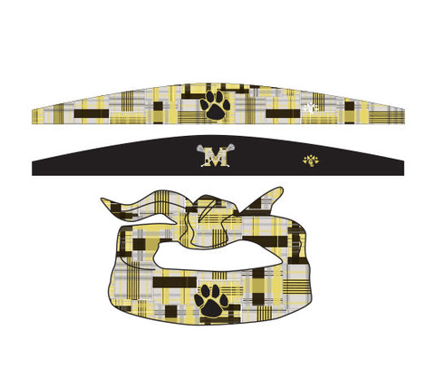 Madison Custom Sublimated Open Ended Headband