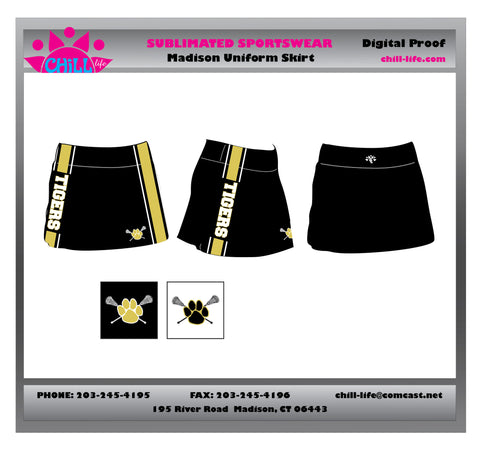 BUNDLED SET PRICING-MADISON GIRLS UNIFORM SKORT