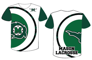 Mason Lacrosse Girl's /Ladies Cut Custom Sublimated Short Sleeve Shooter