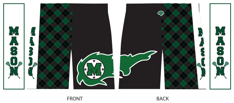 Mason Custom Boys Sublimated Lacrosse Shorts