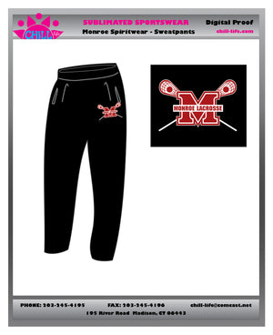 Monroe Open Bottom Heavyweight Sweatpants
