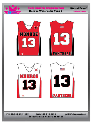 Monroe Boys Grades 5th – 8th Game Jersey