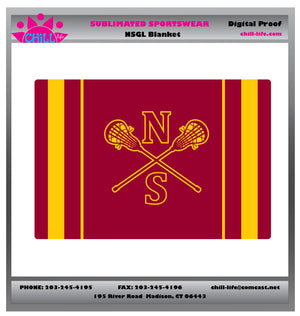 NSGL Sublimated Sherpa Blanket
