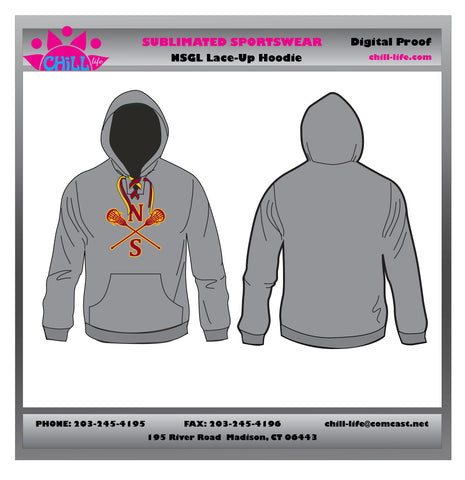 NSGL Lace Up Hoodie