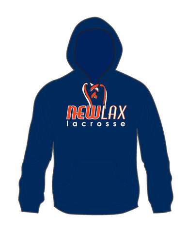 NewLax Lace Up Hoodie-uni-sex sized