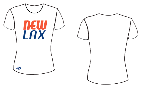 NewLax White Short Sleeve Shooter Shirt-