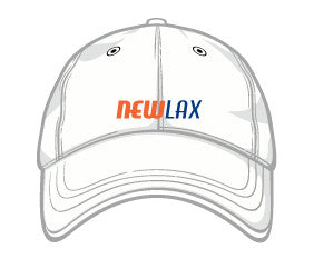 NewLax baseball cap-CLEAN.CRISP.WHITE.