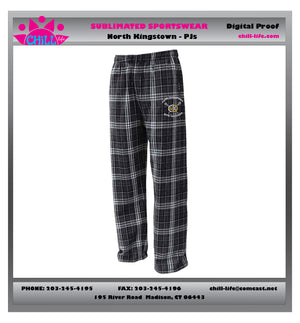 North Kingstown Girls Lacrosse Flannel PJS