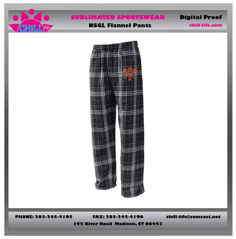 NSGL FLANNEL PANTS